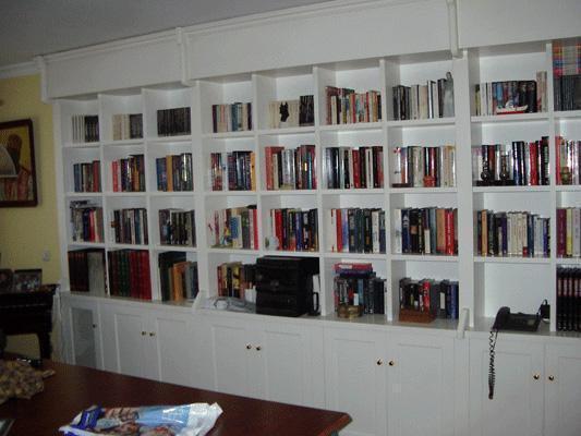 Librería lacada