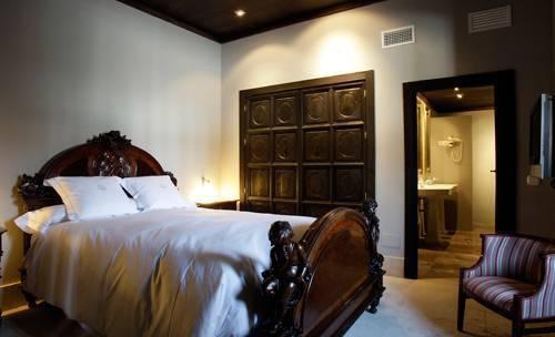 Suite nupcial del hotel palacio de mengibar