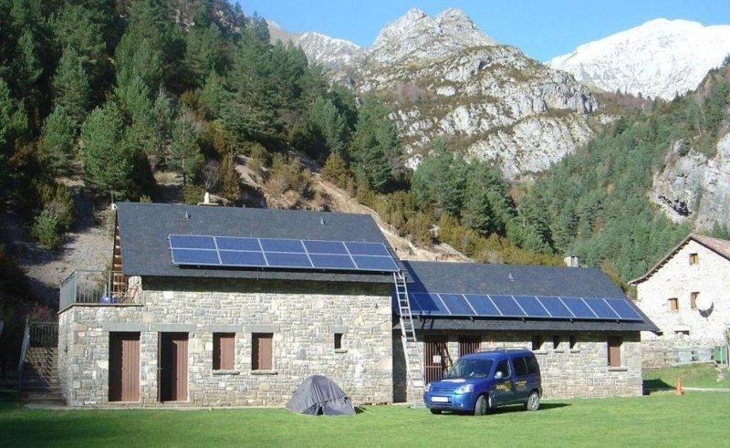 Tecnisolar, Instalación Solar Fotovoltáica, Bujaruelo