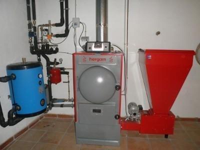 Tecnisolar, Instalación Caldera de Biomasa