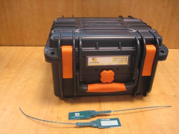 Cofre de custodia de cintas de Backup