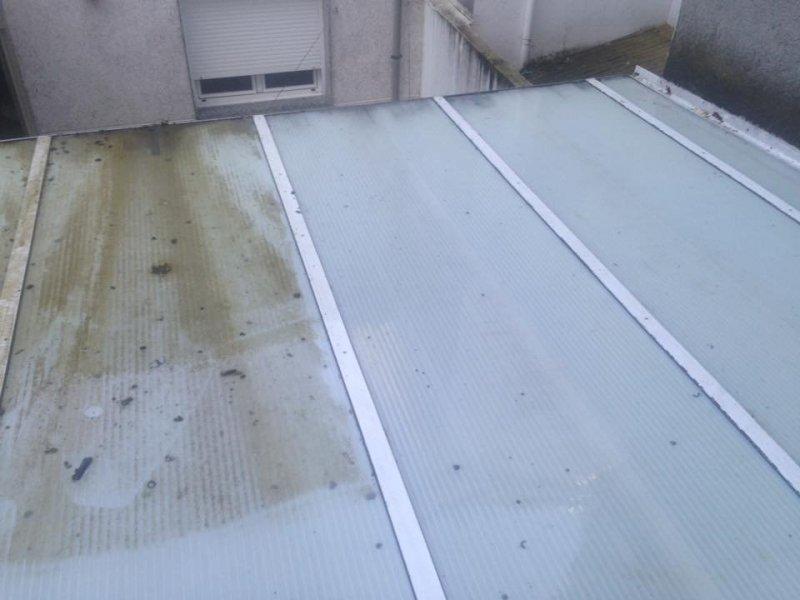 limpieza techos de urelita