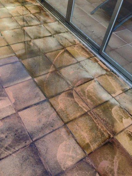 limpieza terrazas