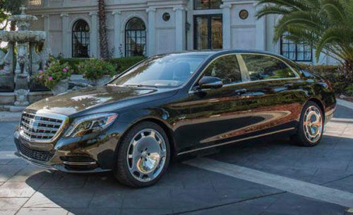 ALQUILER CON CONDUCTOR MERCEDES CLASSE 600 MAYBACH