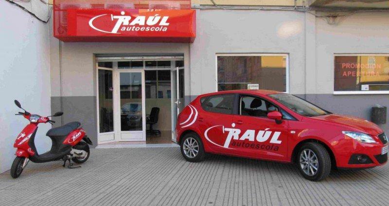 Entrada Autoescuela Raul