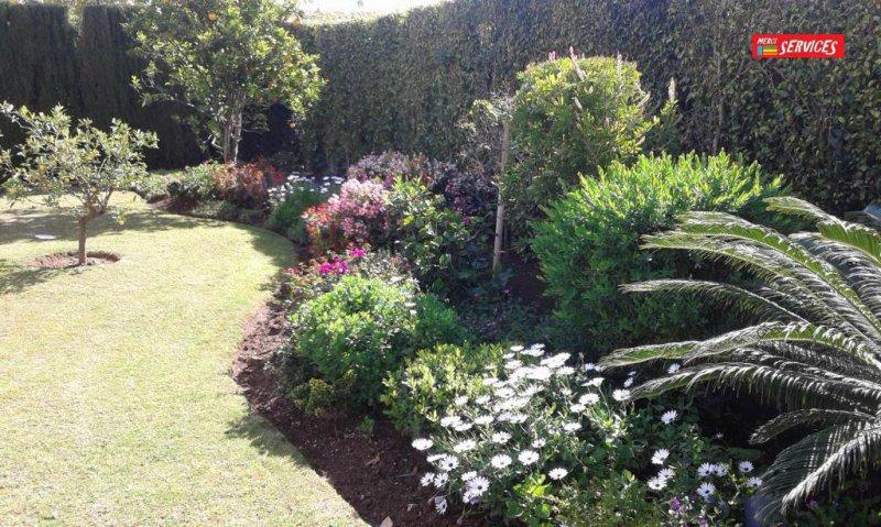 Jardín floreado