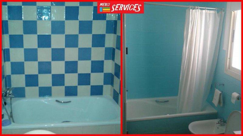 Renovación rápida de baño