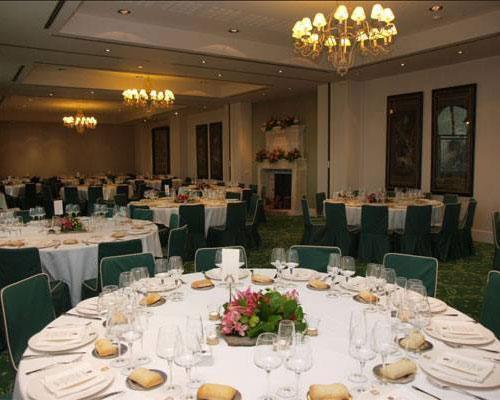 Cuidados salones para el banquete
