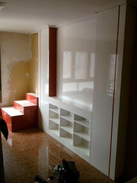 Lacado de mueble - dos colores alto brillo
