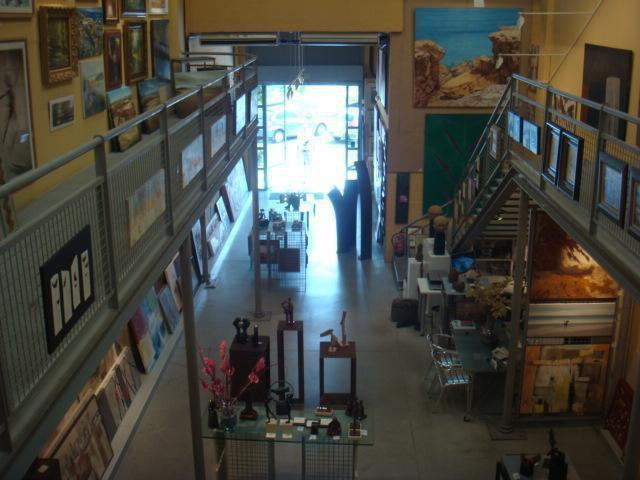 Vista interior de Factoría de Babel