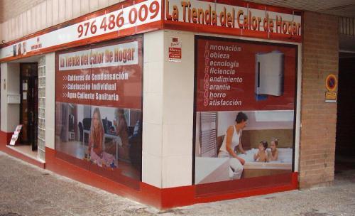 fotografía fachada tienda