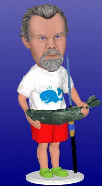 figura personalizada pescador