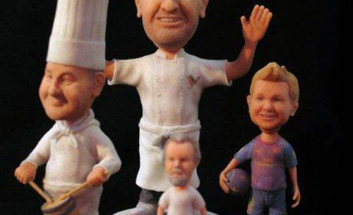 diferentes modelos impresos en 3D