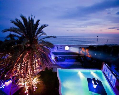 Privilegiada terraza sobre la playa de gava