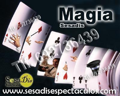 Espectáculos de magia