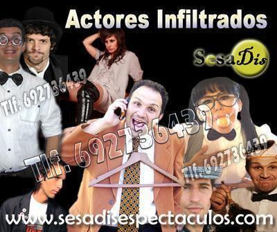 Actores infiltrados