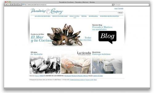 web de empresa de pescaderia
