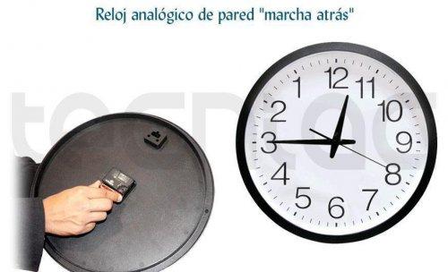 http://www.tecniac.com/Reloj-analogico-pared-marcha-atras