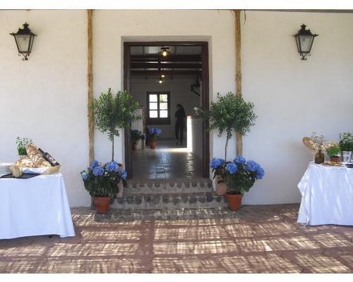 Detalle de entrada al salón principal