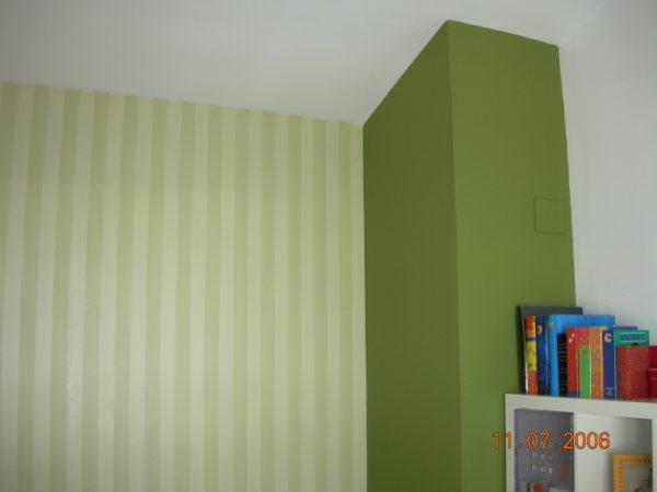 Pintura. Combinación de nuevos colores con técnicas diferentes (lisos y alineados)