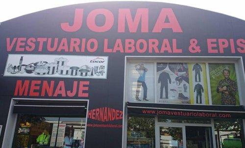 Joma, vestuario laboral y menaje