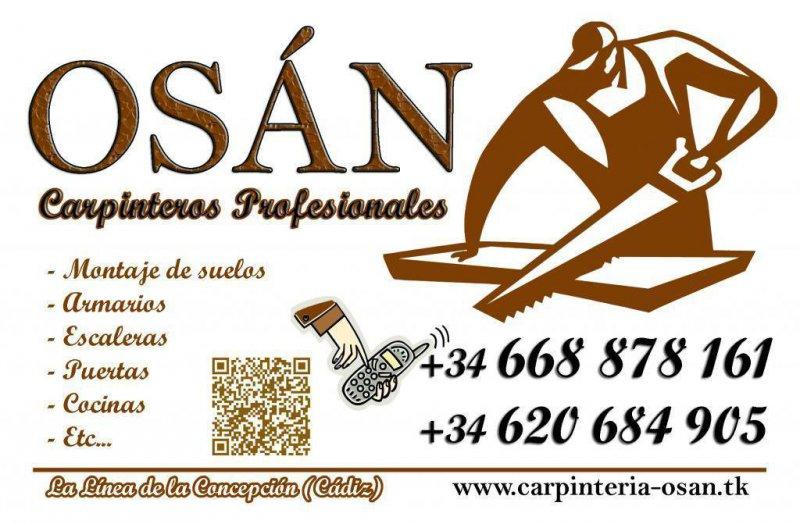CARPINTERÍA OSÁN - Carpinteros Profesionales Gibraltar Sotogrande Algeciras La Línea Cádiz