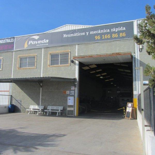 EL TALLER DE NEUMATICOS DE OCASION POVEDA