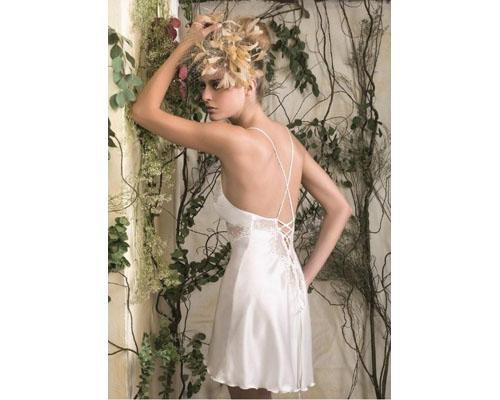 Precioso camisón de corsetería el trébol