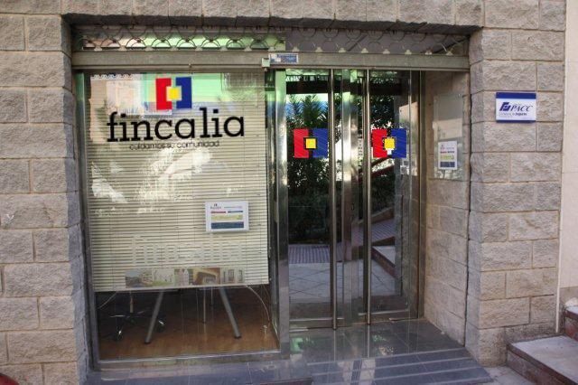 Oficina Fincalia fachada