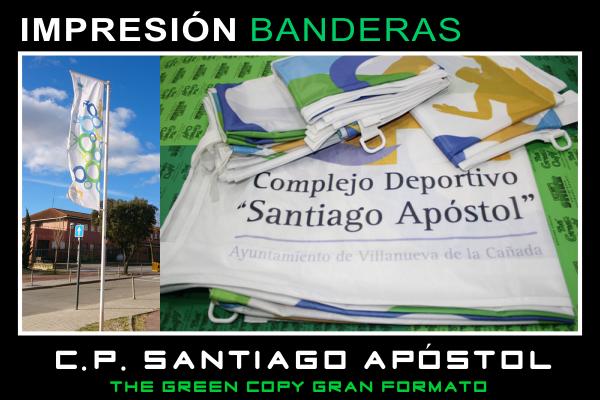 Impresión de BANDERAS Publicitarias en MADRID