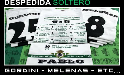 Impresión de Camisetas para DESPEDIDAS de Soltero y Soltera