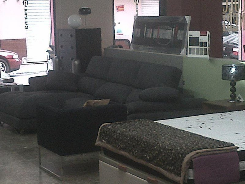 SOFA CHAISELONGUE TAPIZADA NOBUC MARRÓN