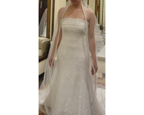 Precioso look de novia