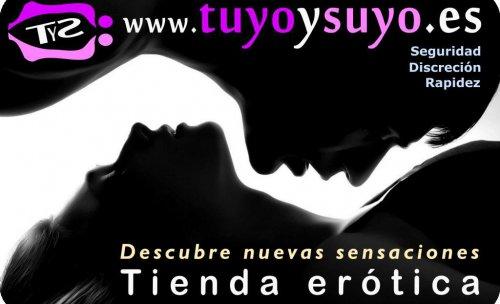 Tienda erótica elegante, discreta y segura - Tuyoysuyo.es