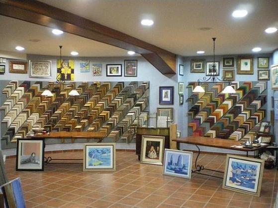Vista panorámica del interior de la tienda