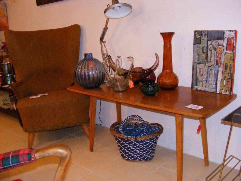 mobiliario nórdico en la recova