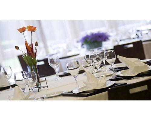 Detalle mesa restaurante