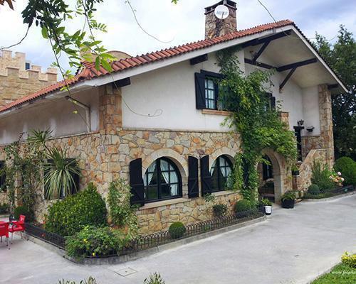 Un caserio unico
