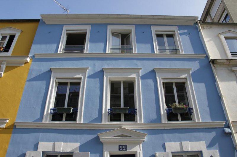 Pintura fachada casa en Valencia