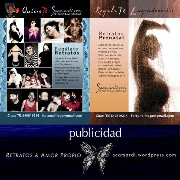 Publicidad Retratos & Amor Propio