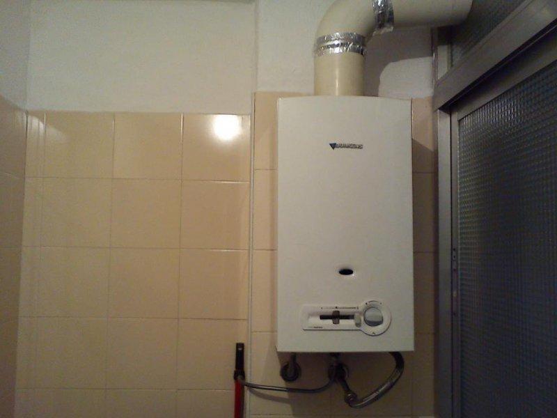 Instalaciones de termo de gas natural