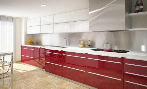 cocina rojo ferrari