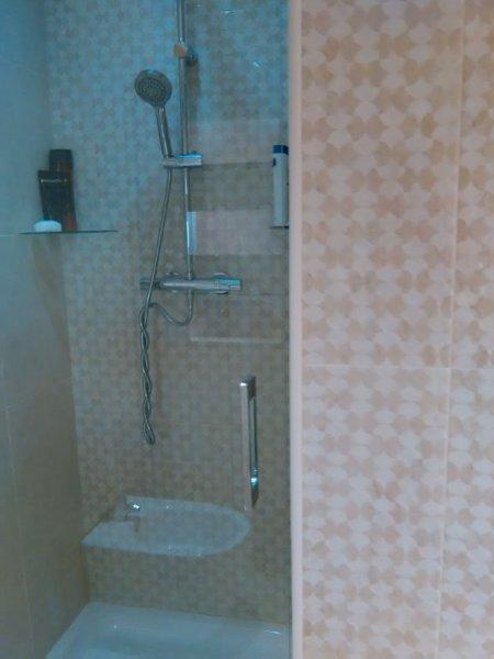 cabina ducha en suite