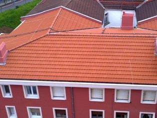 Reforma integral de cubierta y fachadas. Bilbao