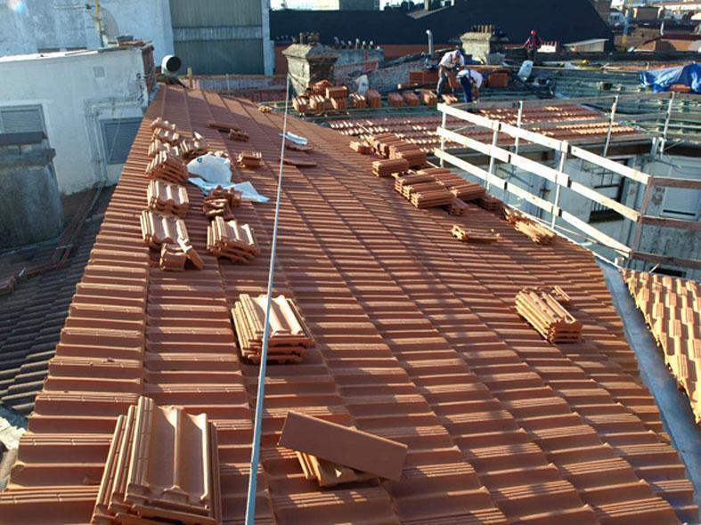 Plaza de Arriquibar  2 - Bilbao - Rehabilitación e impermeabilización de cubierta.