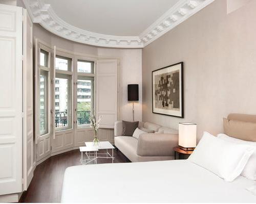 Habitación tower suite Hotel Innside Madrid