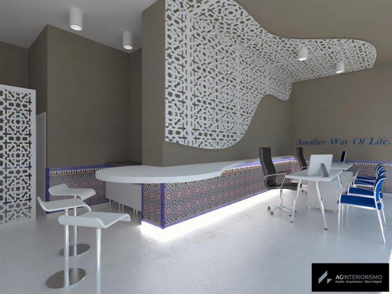 Proyecto de reforma de oficina inmobiliaria en Granada