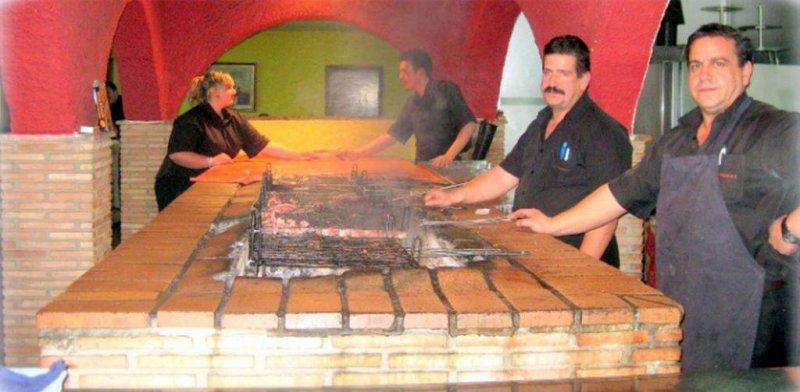 Restaurante Las Brasas. Parrilla Asador