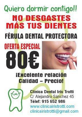 Férula Dental en oferta en Madrid