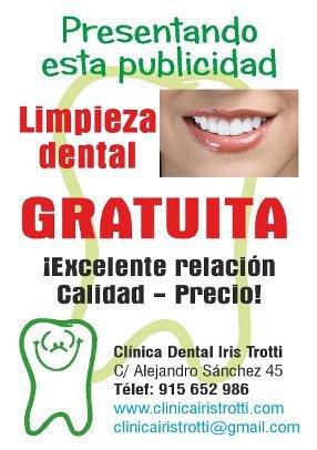 Limpieza Dental Gratuita 915652986